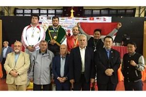 ایران قهرمان رقابتهای کشتی پهلوانی آسیا شد