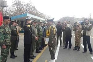 تحلیف سومین دوره درجهداری آموزشگاههای ارتش