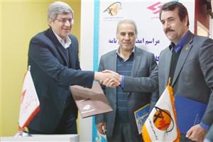 امضای تفاهم نامه همکاری میان پژوهشگاه نیرو و برق منطقهای خوزستان