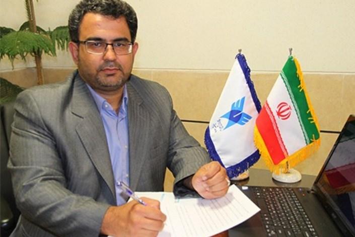 محمدمهدی جباری معاون پژوهشی دانشگاه آزاد اسلامی واحد شیراز