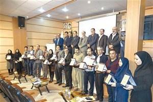 مراسم تجلیل از پژوهشگران و فناوران برتردانشگاه آزاد اسلامی  واحد سنندج
