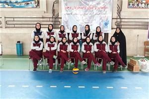 دانشگاه آزاد واحد بندرگز نایب قهرمان مسابقات والیبال دانشجویی دختران