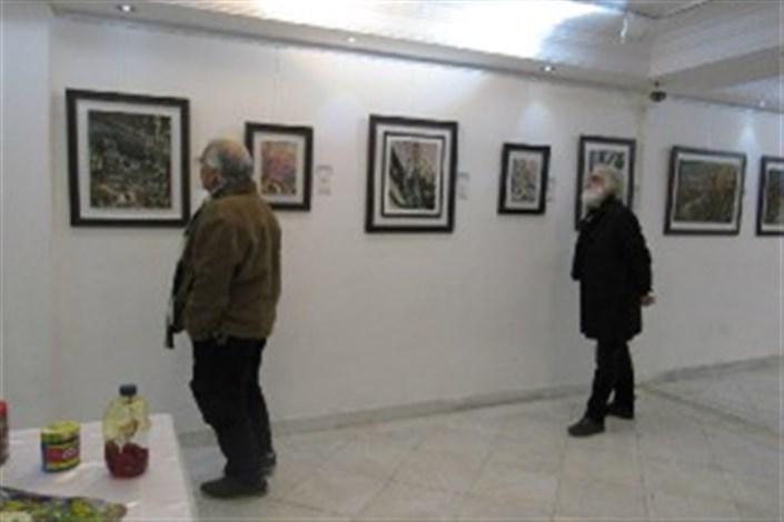 تمدید نمایشگاه «پیدای نهان» در گالری برسام