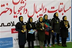 قهرمانی و نائب قهرمانی دانشجویان ,واحد تبریز و جلفا در مسابقات استانی والیبال