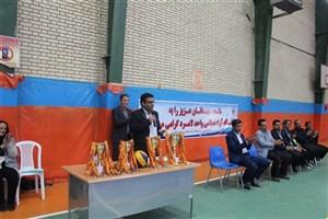 توسعه ورزشی دانشگاه آزاد اسلامی باعث توسعه علمی ورزش کشور می شود