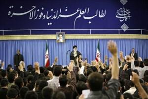 دیدار اعضای شورای هماهنگی تبلیغات اسلامی سراسر کشور با رهبرانقلاب