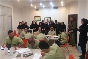 بازدید دانشجویان دانشگاه آزاد واحد بندرگز از مرکز توانبخشی بهکوش گرگان