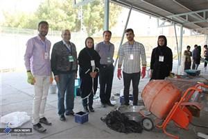 مسابقه «بتن پرمقاومت» در دانشگاه آزاداسلامی بندرعباس برگزار شد