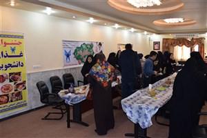 اولین جشنواره غذای دانشجویی در واحد بندرگز برگزار شد