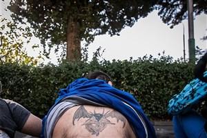 متهم ۱۳۰کیلویی منطقه فلاح دستگیرشد  + عکس