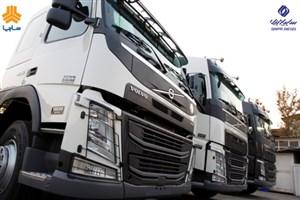 عرضه کامیون های ولوو با مدل 97 به بازار توسط سایپادیزل