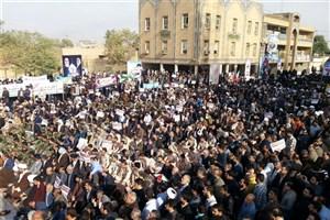 تقدیر ازحضور حماسی مردم خوزستان در مراسم بزرگداشت یوم الله 9 دی