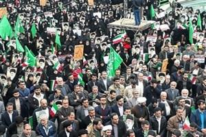 برگزاری اجتماع بزرگ مردم کرمان در سالروز حماسه ۹ دی