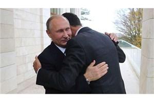 پوتین: ما همچنان در حمایت از سوریه ادامه خواهیم داد