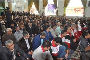 تجدید میثاق دانشگاهیان واحد علی آباد کتول در مراسم 9دی