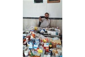 اجرای طرح ویزیت رایگان پزشکی و توزیع دارو در امامزاده ابراهیم (ع) شهرری