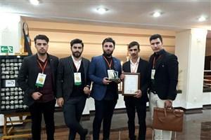 کسب مقام نخست مسابقات دانشجویی انجمن بتن امریکا توسط دانشجویان واحد ایلام