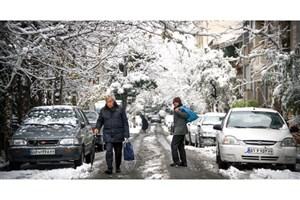 تعطیلی برخی از مدارس استان مرکزی به علت بارش برف