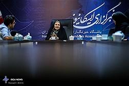 حضور همسر شهید علی محمدی در ایسکانیوز