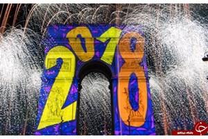 جشن سال نو میلادی + تصاویر