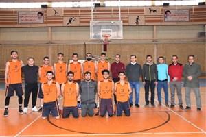 مسابقات قهرمانی بسکتبال دانشجویان دانشگاه آزاد اسلامی استان آذربایجان غربی