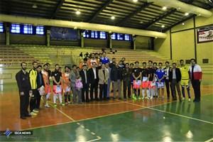 مسابقات فوتسال دانشجویی دانشگاه آزاد اسلامی همدان پایان یافت