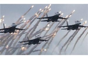 حمله هوایی به بازاری در یمن