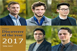 Iranian Researcher Becomes Nominee for Discoverer of the Year 2017
