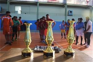 مسابقات فوتسال دانشجویی با عنوان جام شهید حججی برگزار شد