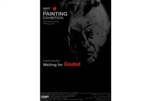 برپایی نمایشگاه نقاشی «در انتظار گودو»
