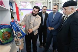 افتتاح نمایشگاه کالاها ومحصولات فرهنگی «جایز فیروزه»
