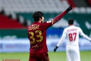 بردیف: حضور آزمون در بازی با اسپارتاک مسکو ۵۰-۵۰ است