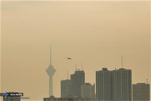 هوای تهران آلوده شد/گروه های حساس بیرون نروند