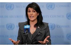 نیکی هیلی:ایران قطعنامه های سازمان ملل را نقض می کند