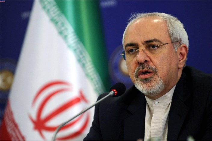 ظریف در نشست الگوهای نظم منطقه ای در جهان پساداعش سخنرانی  می کند