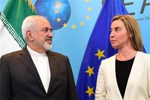 نشست ظریف - موگرینی و سه وزیر اروپایی اواخر هفته در بروکسل برگزار می شود