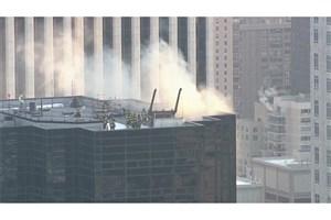 زخمی شدن دو نفر در آتش سوزی برج ترامپ