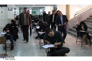 برگزاری 2100 جلسه امتحان با حضور 96000 نفر آزمون در نیمسال اول 97-96
