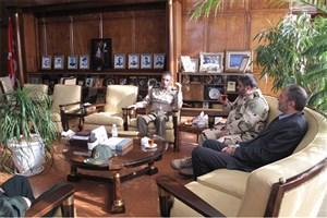 سردار جلالی با فرمانده کل ارتش دیدار و گفتگو کرد
