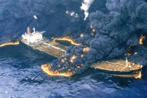 احتمال انفجار یا غرق شدن کشتی وجود دارد/ پیش بینی شعله ور بودن آتش تا یکماه