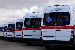 ۲۸۰دستگاه  آمبولانس در انتظار ترخیص از گمرک/۱۲۰ دستگاه آمبولانس مدرن در چرخه عملیات