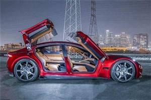 خودروی هیبریدی با حداکثر سرعت ۲۵۹ کیلومتر برساعت رونمایی شد