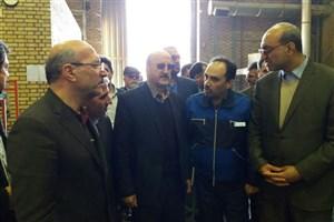 بازدید استاندار قزوین از سه واحد صنعتی