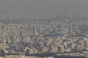 میزان شاخص آلایندگی در هوای اصفهان