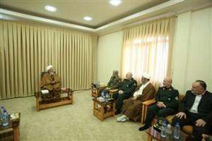 وزیردفاع با مراجع عظام تقلید دیدار کرد