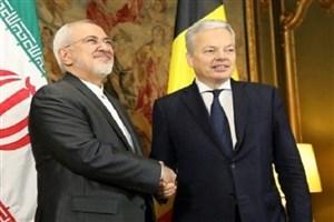وزرای امور خارجه ایران و بلژیک دیدار کردند