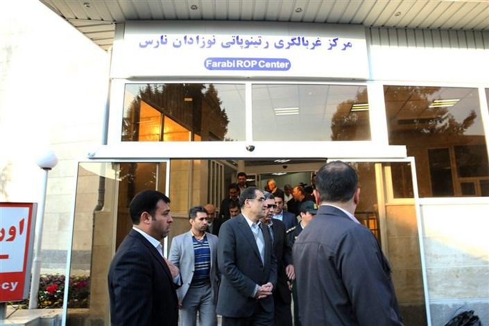 وزیربهداشت: بیمارستان فارابی یکی از قطبهای چشم پزشکی جهان خواهد شد