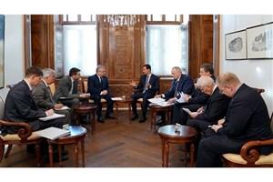 """دیدار بشار اسد با فرستاده """"ولادیمیر پوتین"""" در سوریه"""