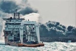 ورود تکاوران نیروی دریایی ارتش ایران به نفتکش سانچی