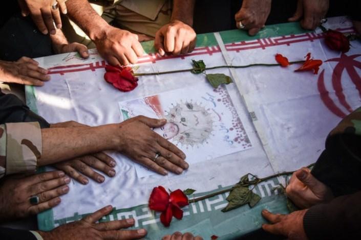 تشریح مراسم استقبال و خاکسپاری پیکر شهید انبارکی در تنگستان
